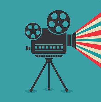 הקרנת סרטים במועדון נוער