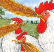 ג'ימבוכיף: שעת סיפור תאטרלית: התרנגולים והשועל